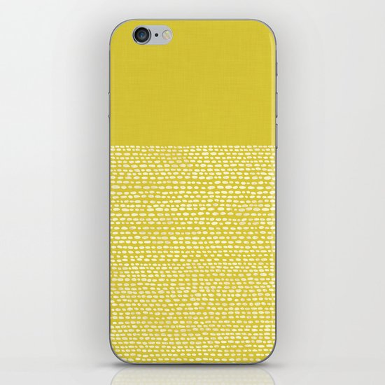 Riverside(Yellow) iPhone & iPod Skin