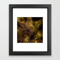 Dehiscence 4 Framed Art Print