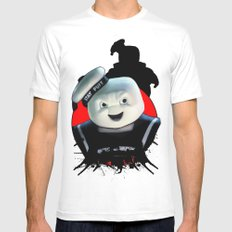 Stay Puft: Monster Madness Series SMALL White Mens Fitted Tee