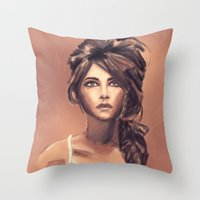 Earth Dreams Throw Pillow