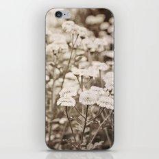 Roaming Through Wild Flower Fields iPhone & iPod Skin