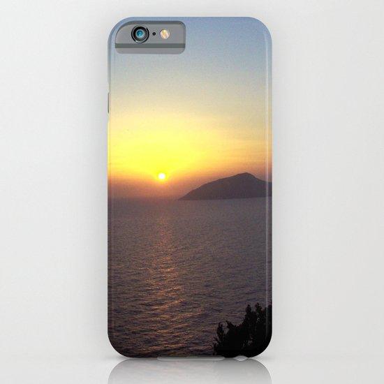 Greek Sunset iPhone & iPod Case