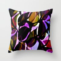 Red weed. Throw Pillow