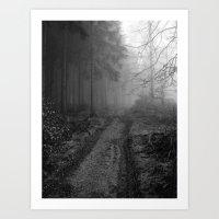 Woodway Art Print