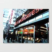 Katz's Deli Canvas Print