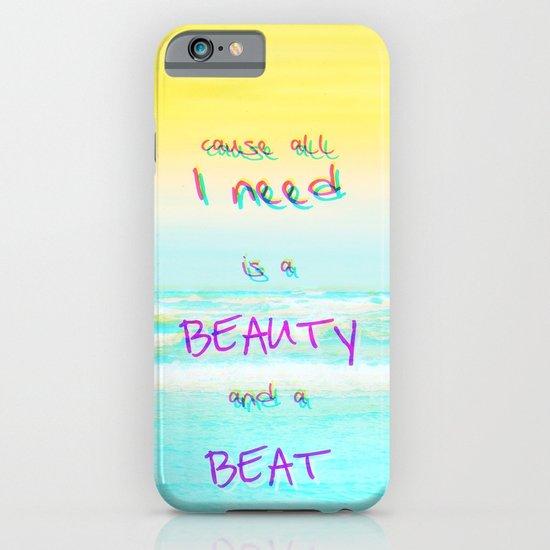 BEACH iPhone & iPod Case