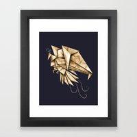 Phoenixgami Framed Art Print