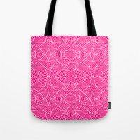 Ab Zoom Mirror Fushia Tote Bag