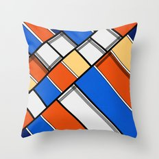 Lined I Throw Pillow