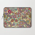 My butterflies and flowers. in yellow Laptop Sleeve