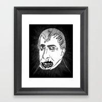 09. Zombie William Harri… Framed Art Print