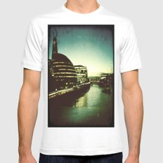 The City Mens Fitted Tee White SMALL