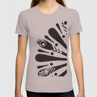 p bird Womens Fitted Tee Cinder SMALL