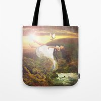 Fall To Grace Tote Bag