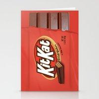 Kit Kat Stationery Cards