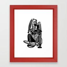 Bear me - Emilie Record Framed Art Print