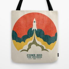 Come See The Universe Tote Bag