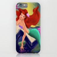 Little Mermaid So In Love  iPhone 6 Slim Case