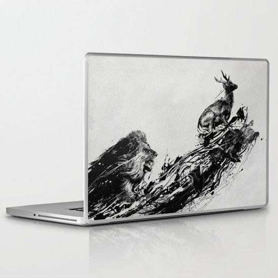 Intense Chasing Laptop & iPad Skin