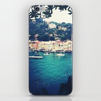 A Vintage Day In Portofi… iPhone & iPod Skin