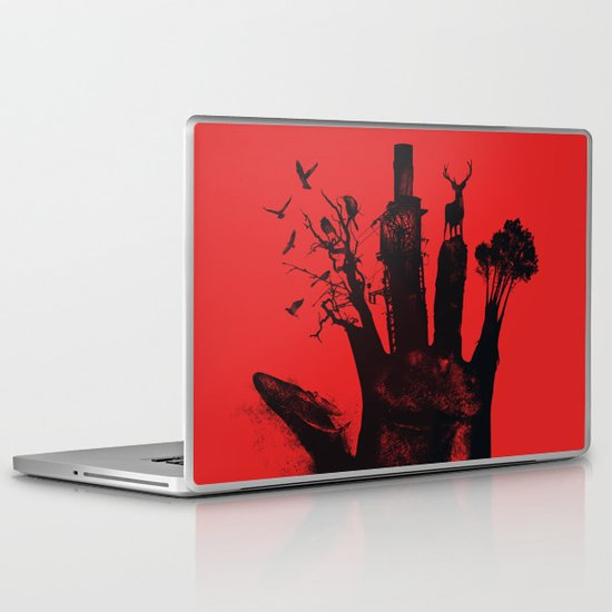 1 4d money 4 for life Laptop & iPad Skin