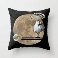 Moon. Child. Throw Pillow