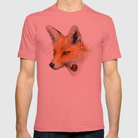 Fox VI Mens Fitted Tee Pomegranate SMALL