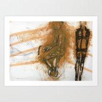 gurl Art Print