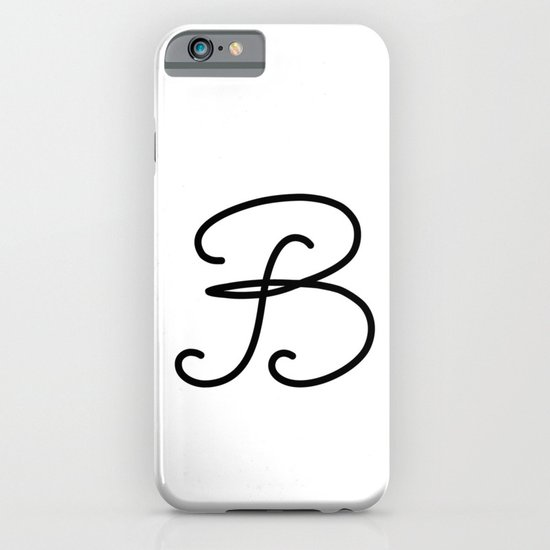 Letter  B iPhone & iPod Case