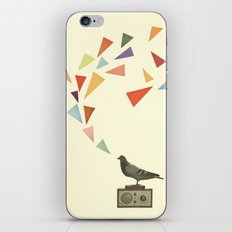 Pigeon Radio iPhone & iPod Skin