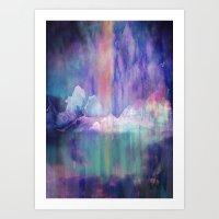 Northern Lights Adventure Art Print