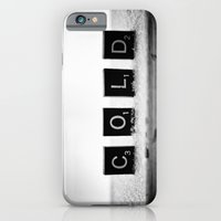 iPhone & iPod Case featuring Cold Scrabble Tiles by Jo Bekah Photography & Design