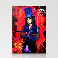 Alice Cooper Stationery Cards