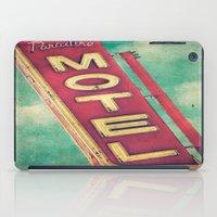 Paradise Motel Sign iPad Case