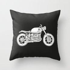 BMW R80 - Cafe Racer series #4 Throw Pillow