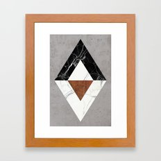Marble Abstract Framed Art Print