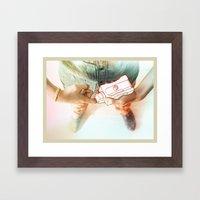 Creative weapon #3 Framed Art Print