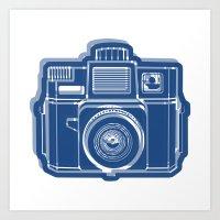 I Still Shoot Film Holga… Art Print