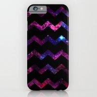 iPhone & iPod Case featuring Galaxy Chevron by Matt Borchert