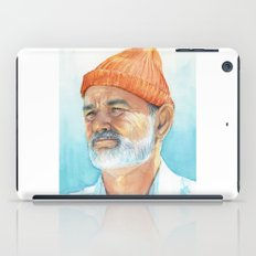 Steve Zissou Art | Watercolor Portrait iPad Case
