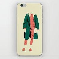 pink&green iPhone & iPod Skin