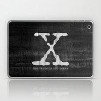 X-Files Poster Laptop & iPad Skin