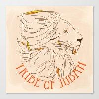 Judah Canvas Print