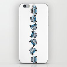 Ari Vatanen-Bruno Berglund, 1989 Paris Dakar crash sequence iPhone & iPod Skin