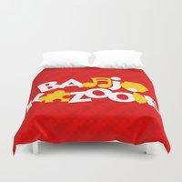 Banjo-Kazooie - Red Duvet Cover