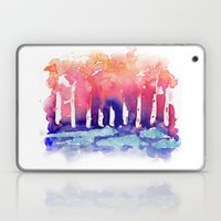 Abstract Forest Laptop & iPad Skin