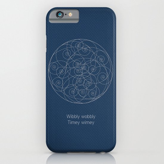 Doctor Who: Wibbly Wobbly iPhone & iPod Case
