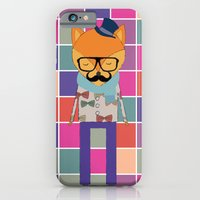 Hipster Fox iPhone 6 Slim Case