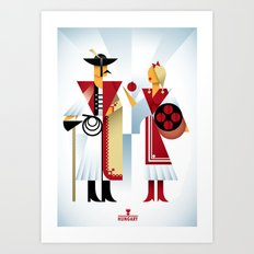 Hungary Art Print