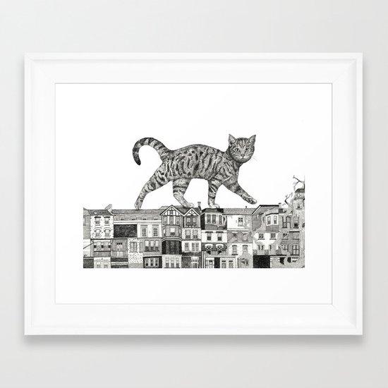 ZEITGEIST Framed Art Print